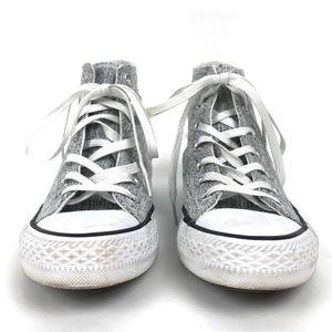 Converse Shoes - Converse Grey Hi Tops Size 6
